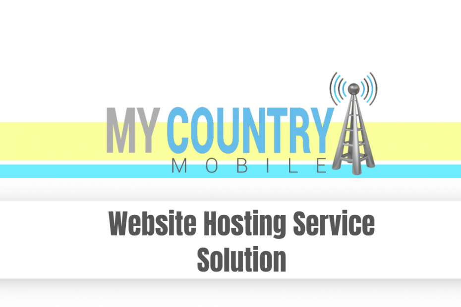 Website Hosting Service Solution - My Country Mobile